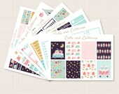 Happy Glamper Planner Sticker Kit - Matte or Glossy