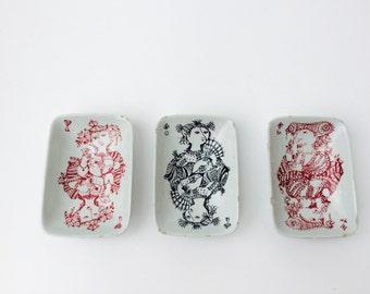 Danish Bjørn Wiinblad Nymølle Ceramic Card Dishes