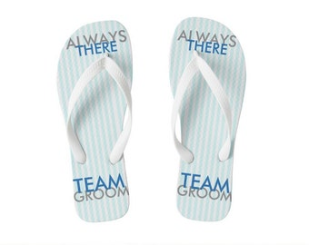 TEAM GROOM Flip Flop, can match color to bridesmaid, wedding engagement, party, and games, groomsmen gifts, bachelor party, order any amount