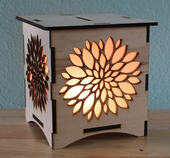 Flower NightLight Laser Cut Lamp