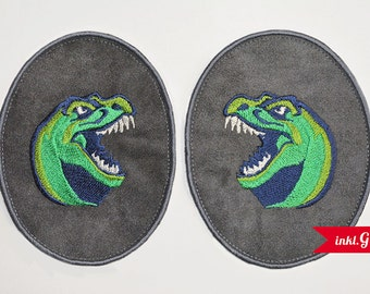 Applikation-DINO knee patch