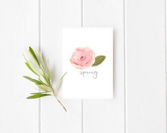 Spring Print | Home Decor