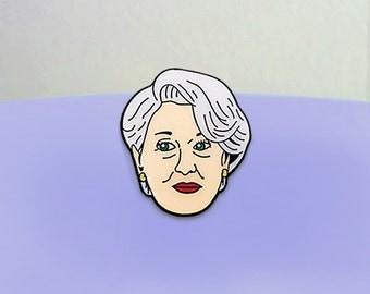 Meryl Streep in Devil Wears Prada Enamel Pin