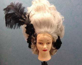 Silver Marie Antoinette Wig