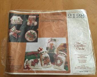 Christmas Stitchery Kit    GIFT SACS by The Creative Circle