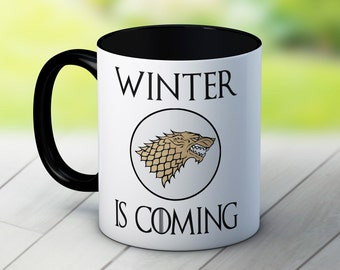 Winter is Coming - Stark Sigil - Game of Thrones - Fun Coffee Tea Mug