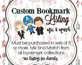 Mix & Match: Custom Bookmark Order