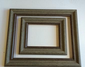 Picture Frames  2  barnwood  6x8  11x14     M2D681114