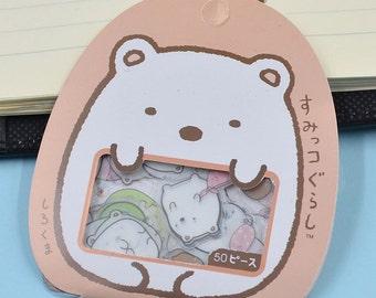Summiko Gurashi San-X Stickers / Japanese Stickers / Flake Stickers / Planner Stickers / San-X / Kawaii Stickers / Stationery Stickers