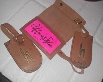 Vintage Hartmann Luggage Tags