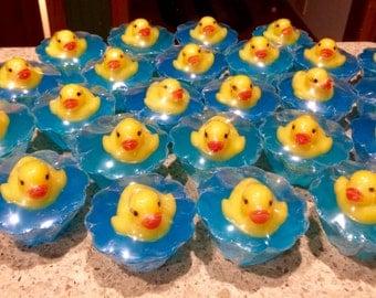 30  Adorable rubber duck shower favors.
