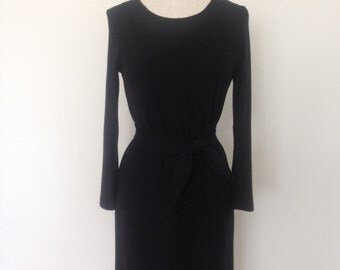 Jersey viscose winter dress