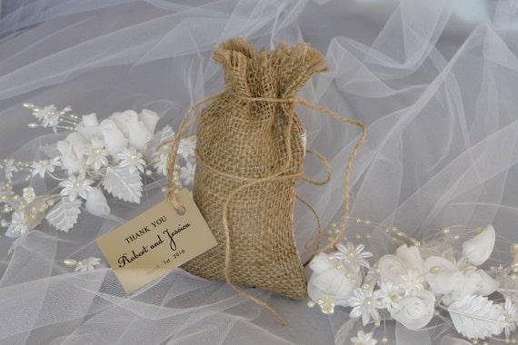 Wedding Favor Bag Tags : Wedding Favor Bag with Tag, Quantity 20, Rustic Wedding, Wedding Favor ...