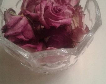 Dried rose petals, flowers and buds~ handpicked from my garden (Small)
