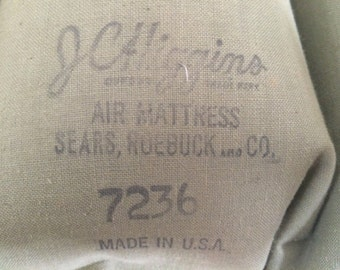 Mint Condition Vintage JC Higgins Sears Air Mattress...holds air!