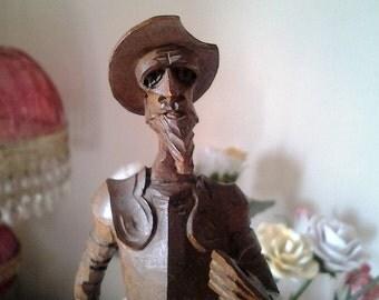 Don Quixote  made by Ouro Artesania in Spain - Souvenir