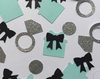 Bridal shower confetti. Wedding Confetti. Engagement Party confetti. Birthday confetti. Wedding Shower confetti.