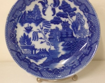 Saucer, Blue and White
