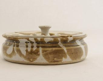 Vintage 1970s ceramic Tortilla Warmer