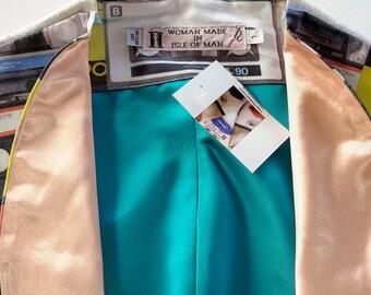 """L Cotton with Paisley """"Cassette"""" Bolero Jacket"""