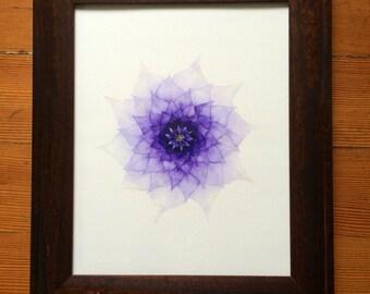 Chakra Artwork - Spiritual Art - Sahasrara - Crown Chakra - Yoga Art - Healing Art