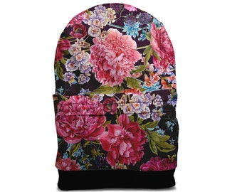 SALE! Flower peony backpack bag
