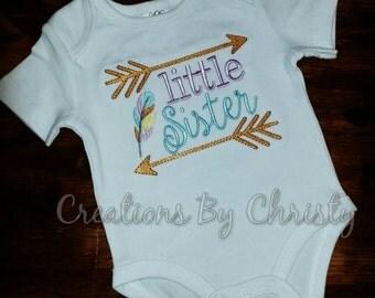 Little Sister Onesie or Shirt