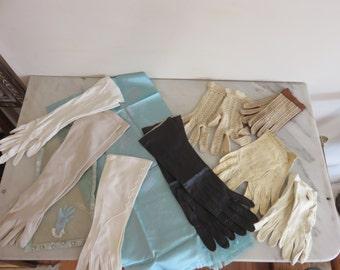Vintage Woman's Gloves