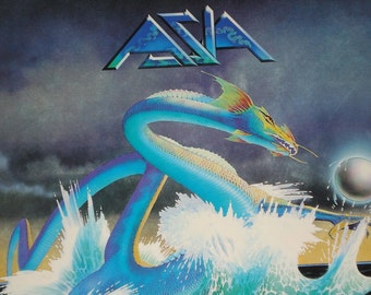 ASIA record album ASIA vintage vinyl record