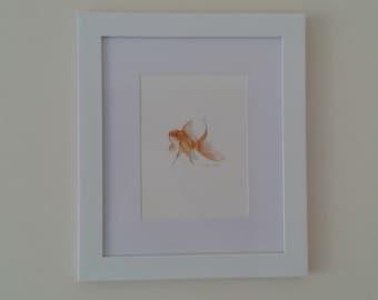 Original Goldfish Painting