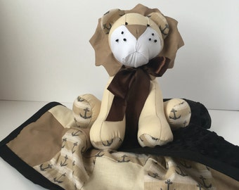 Stuffed Lion; Made to Order; stuffed animal, lion stuffed animal, stuffed lion, plushy lion, decorative lion, stuffed animal lion, toy lion