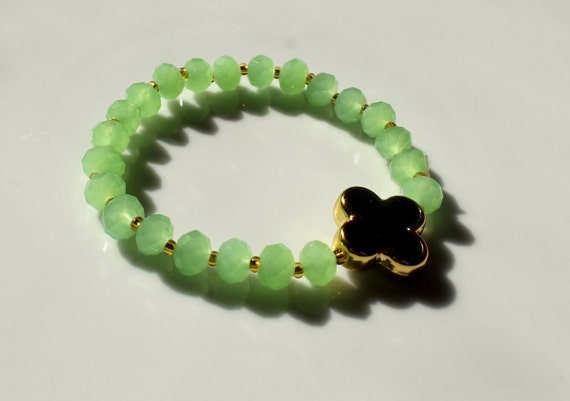 Handmade Crystal beads  bracelet