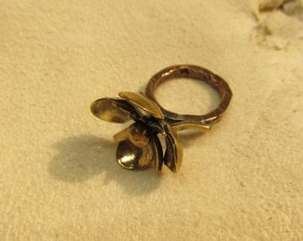 Cherry blossom ring. Size 6