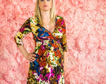 "Maternity dress ""Colours"""