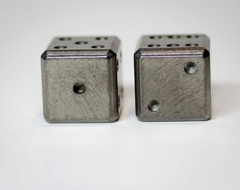 Stainless Steel Gravity Dice