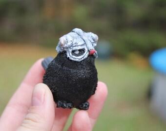 Skyrim- Black Bird- Figurine- Handcrafted Sculpture- Dovahkiin Dragon Born