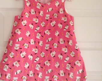 Pink dog dress  Etsy