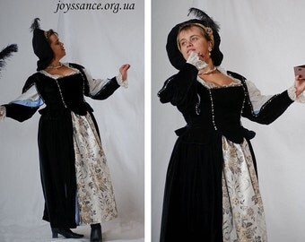 Pre-owned 17th century Woman's Baroque Dress
