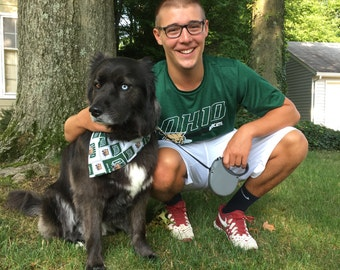 Ohio University Bobcats Dog Bandana