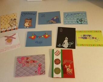Handmade blank cards