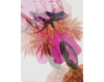 out of focus pink, print, wall art, home