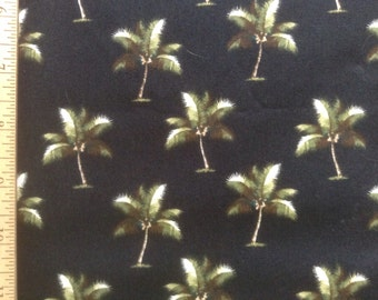 Trendtex Fabrics    #ED-015B     Palm Trees