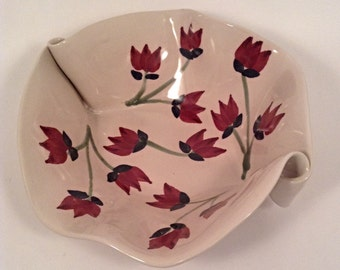 Pottery bowl, Hilborn Pottery Design, Canadian pottery, serving bowl,