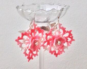 Crochet earrings elegance and style