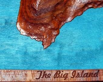 Wood Carving, Island Of Hawaii ( The Big Island )