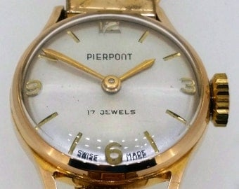 Ladies Pierpont vintage watch