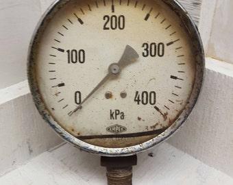 1930's generator pressure gauge