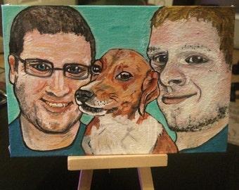 Custom Animal Portrait Paintings