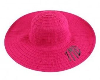 Floppy Summer Hats - Monogrammable