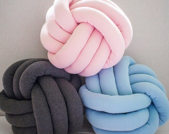 Knot Cushion  - Custom Colour